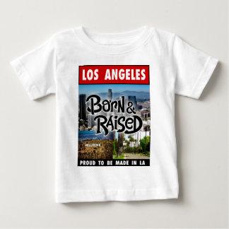 Los Angeles  Born & Raised Baby T-Shirt