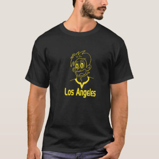Los Angeles Boy (Yellow line) T-Shirt