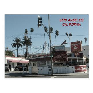 Los Angeles Burgers Postcard! Postcard