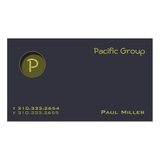 Los Angeles Business Card Templates