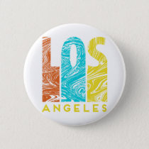 Los Angeles Button