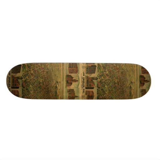 Los Angeles CA 1891 Skateboard Deck