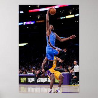 LOS ÁNGELES, CA - 19 DE MAYO: Kevin Durant #35 de  Póster