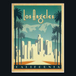 "Los Angeles, CA 2 Postcard<br><div class=""desc"">Anderson Design Group is an award-winning illustration and design firm in Nashville,  Tennessee. Founder Joel Anderson directs a team of talented artists to create original poster art that looks like classic vintage advertising prints from the 1920s to the 1960s.</div>"