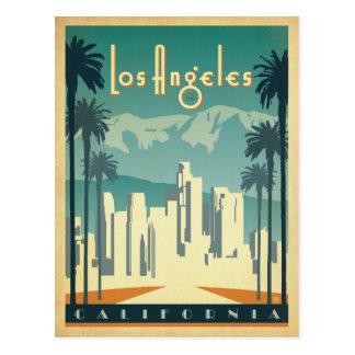 Los Ángeles, CA 2 Tarjeta Postal