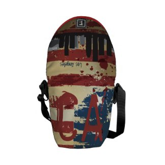 Los Angeles,CA American Cities CityScape Bag Courier Bag