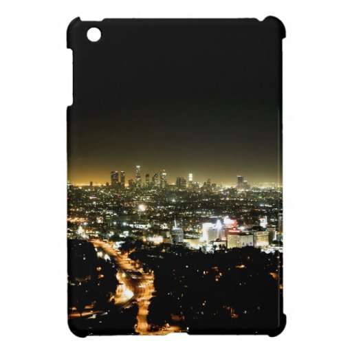 Los Angeles, CA Beautiful Nighttime iPad Mini Covers