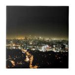 Los Angeles, CA Beautiful Nighttime Tiles