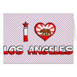 Los Angeles, CA Card