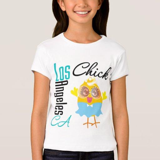 Los angeles ca chick 3 t shirt zazzle for Los angeles california shirt