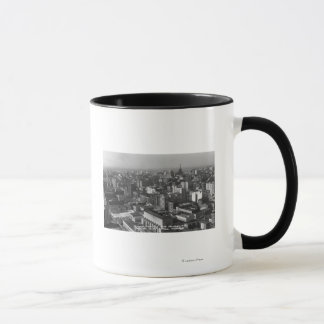 Los Angeles, CA Downtown View from City Hall Mug