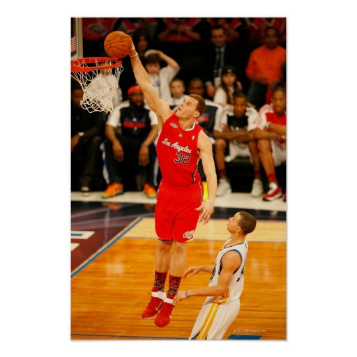 LOS ANGELES, CA - FEBRUARY 18:  Blake Griffin Print