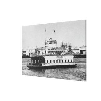 Los Angeles, CA Ferry Islander near Harbor Gallery Wrapped Canvas