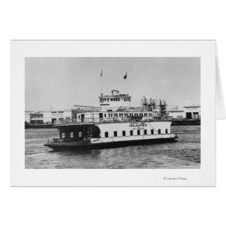 Los Angeles, CA Ferry Islander near Harbor Cards