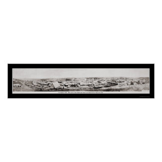 Los Angeles, CA Photo 1869 Poster