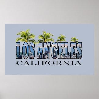 Los Ángeles CA Póster