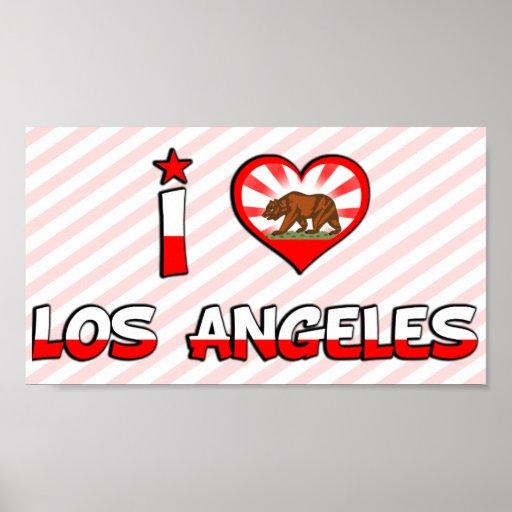 Los Angeles, CA Print