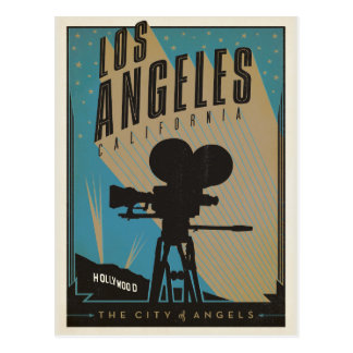 Los Ángeles, CA Tarjeta Postal