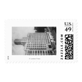 Los Angeles, CA United Artists Theater Postage Stamp