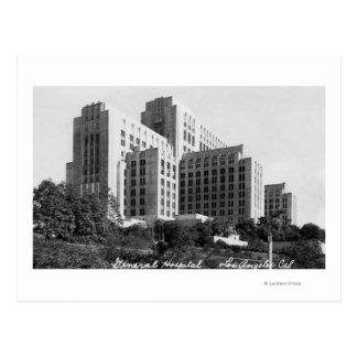 Los Angeles, CA View of General Hospital Postcard