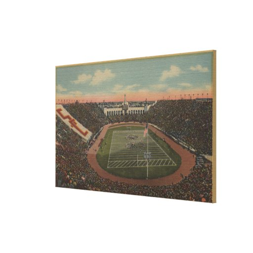 Los Angeles, CAColiseum at Exposition Park Gallery Wrapped Canvas