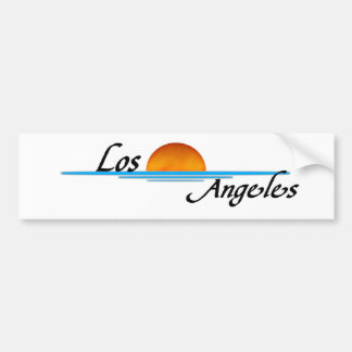 Los Ángeles Pegatina De Parachoque