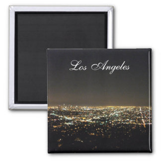 Los Angeles California 2 Inch Square Magnet