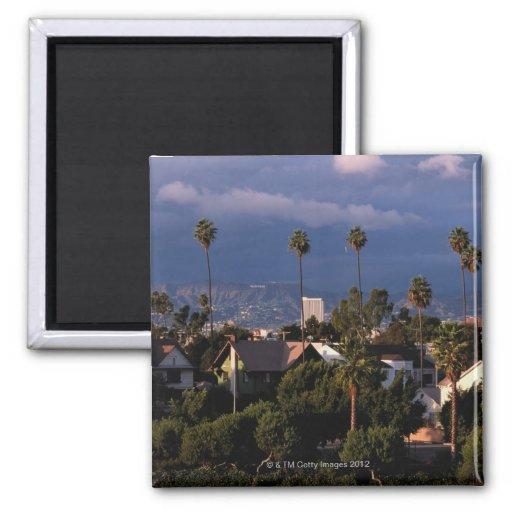Los Angeles, California 2 Inch Square Magnet