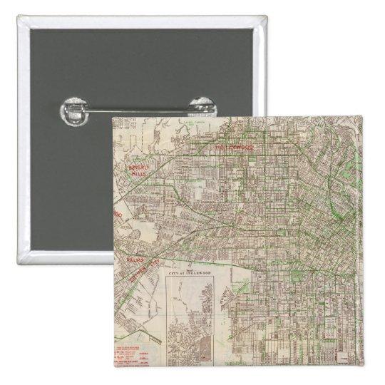 Los Angeles, California 2 Pinback Button