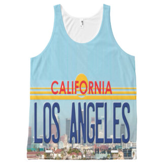 Los Angeles California All-Over Print Tank Top