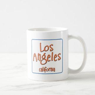 Los Angeles California BlueBox Coffee Mug