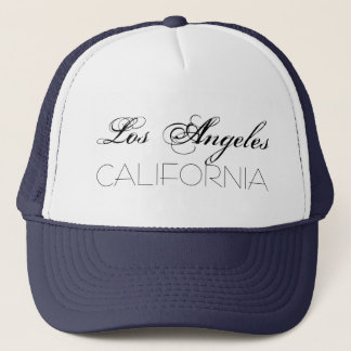 Los Angeles California chic customizable Trucker Hat