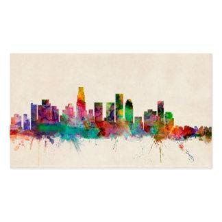 Los Angeles California Cityscape Skyline Business Card