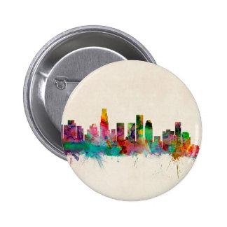 Los Angeles California Cityscape Skyline Pin