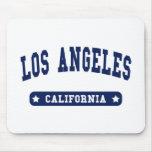 Los Angeles California College Style tee shirts Mouse Pad