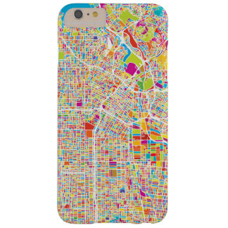 Los Angeles, California   Colorful Map Barely There iPhone 6 Plus Case