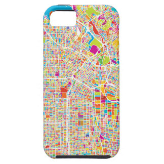 Los Angeles, California   Colorful Map iPhone SE/5/5s Case