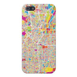 Los Angeles, California   Colorful Map iPhone SE/5/5s Cover