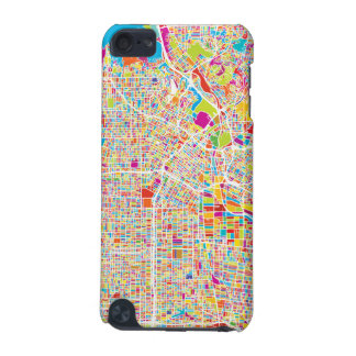 Los Angeles, California   Colorful Map iPod Touch (5th Generation) Cover