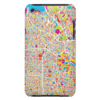 Los Angeles, California   Colorful Map iPod Touch Case-Mate Case