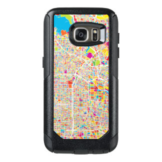 Los Angeles, California   Colorful Map OtterBox Samsung Galaxy S7 Case