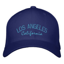 Los Angeles California Embroidered Baseball Cap