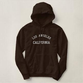 Los Angeles California Embroidered Hoodie