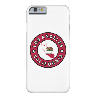 Los Ángeles California Funda Barely There iPhone 6