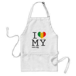 Los Angeles California I love my own city! Aprons