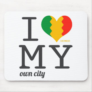 Los Angeles California I love my own city! Mouse Pad