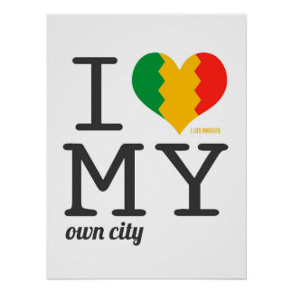 Los Angeles California I love my own city! Posters
