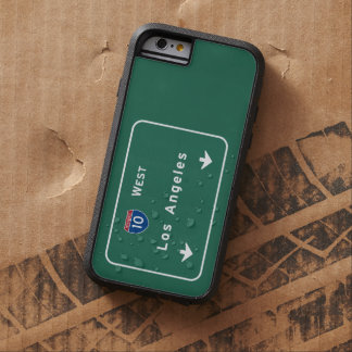 Los Angeles California Interstate Highway Freeway Tough Xtreme iPhone 6 Case