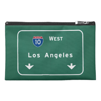Los Angeles California Interstate Highway Freeway Travel Accessories Bag