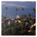 Los Angeles, California Large Square Tile